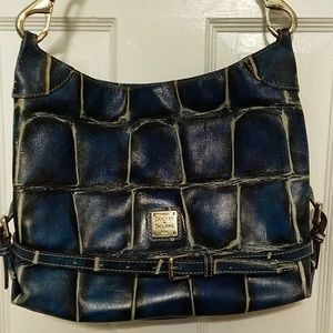 Blue D&B legacy crossbody bag